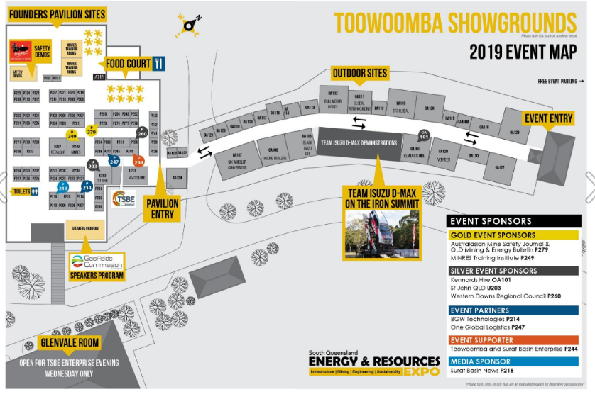Energy & Resources Expo 2019 Event Map
